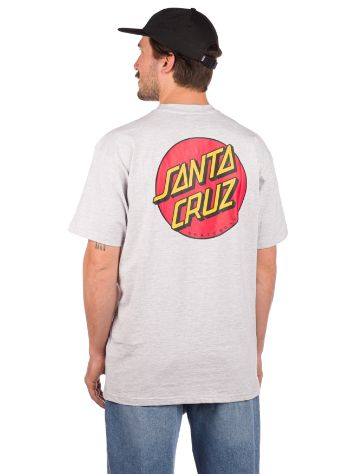 Santa Cruz Classic Dot Chest T-Paita