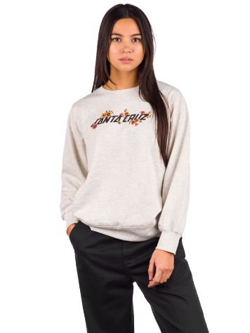 Santa Cruz Poppy Strip Crew Sweat