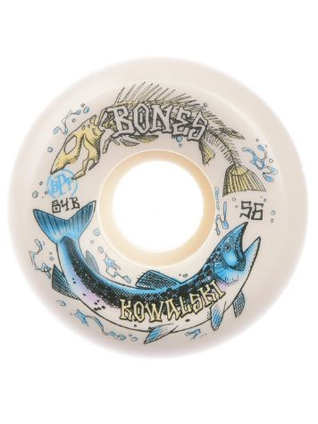Bones Wheels Spf Kowalski Salmon Spawn 84B Sdect 56mm Rollen