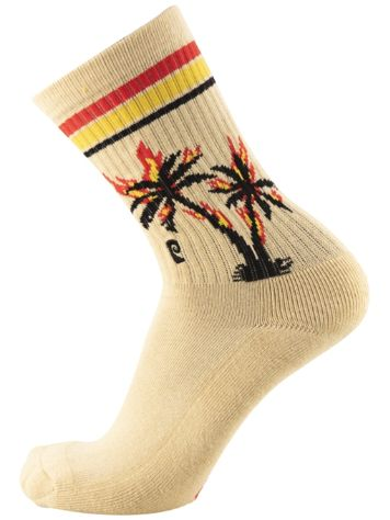 Psockadelic Burning Palm Socks