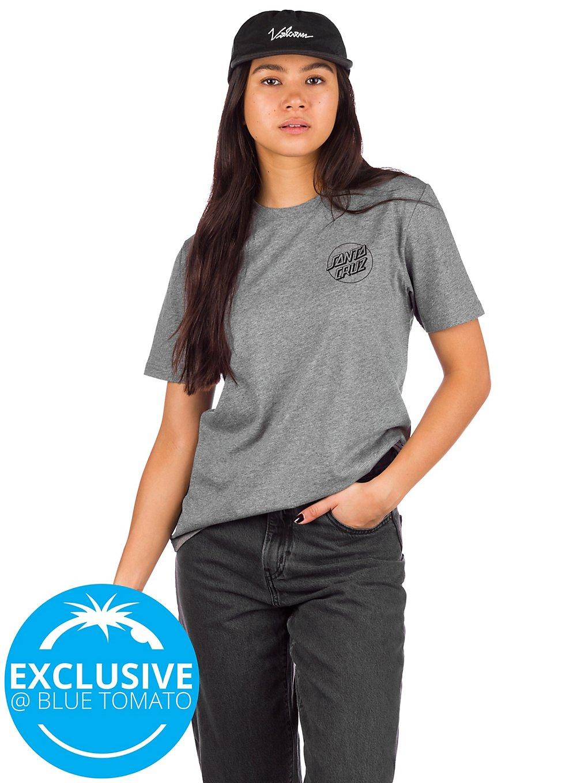 Santa Cruz Floral Dot T-Shirt Heather Grey