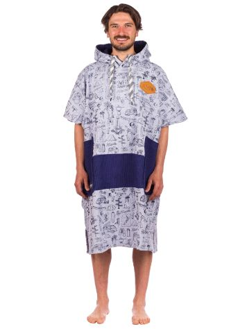 All-In Bumpy Line V Surf poncho