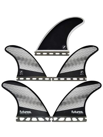 Futures Fins Quad Thruster 5 F6 Legacy Honeycomb Fin Set