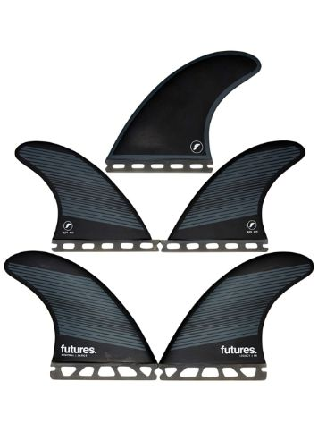 Futures Fins Quad Thruster 5 F8 Legacy Honeycomb Fin Set