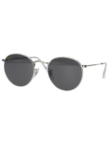 Ray-Ban Round Metal Silver Sunglasses