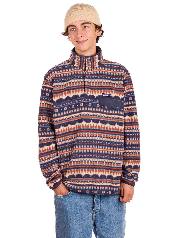 Patagonia LW Synchilla Snap-T Sweater el cap khaki