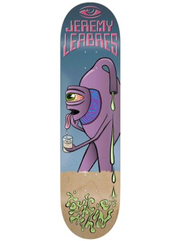 "Toy Machine Leabres Face Off 8.38"" Skateboard Deck"