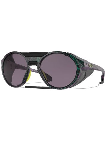 Oakley Clifden Black Green Purple Splatter Lunettes de Soleil