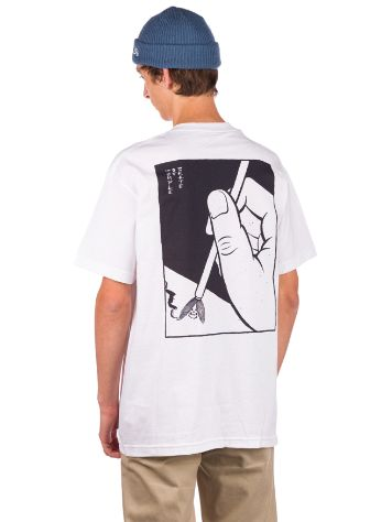 Temple of Skate Spooky Brush T-Shirt