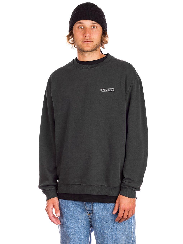 Volcom Backwall Crew Fleece Sweater black