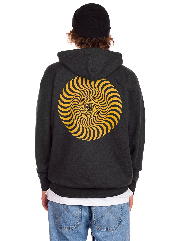Spitfire Classic Swirl Hoodie gold print