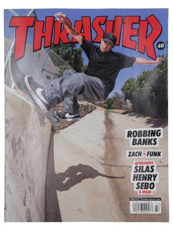 Thrasher Issues March 2021 Magazin