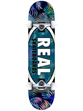 "Real Team Tropics Oval II 7.5"" Skateboard complet"
