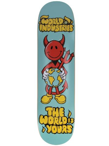 "World Industries World Is Yours 8"" Skateboard Deck"