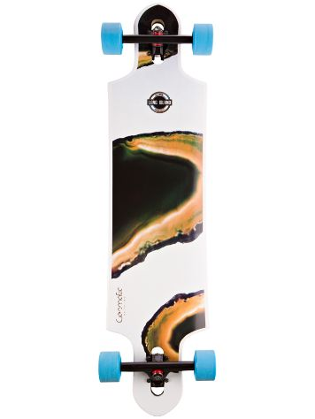 "Long Island Longboards Geomatic 39.8"" Drop Through Complete"