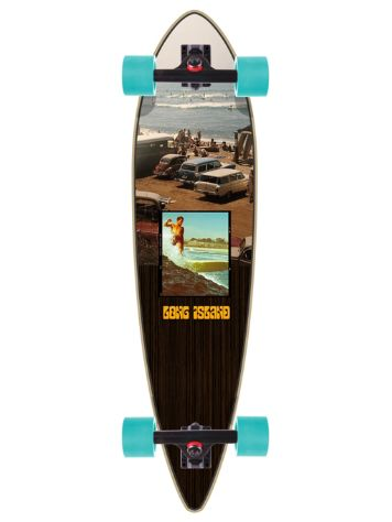"Long Island Longboards Florida 42"" Pintail Complete"