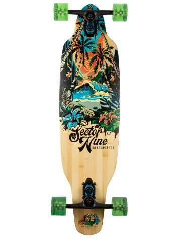 "Sector 9 Paradise Bamboo Striker Aina 36.5"" Drop Through Complete"