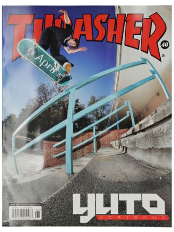 Thrasher Issues June 2021 Magazin