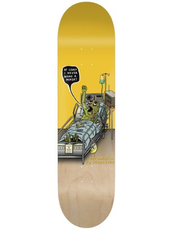 "Toy Machine Templeton Never Wore A Mask 8.5"" Skateboard Deck"