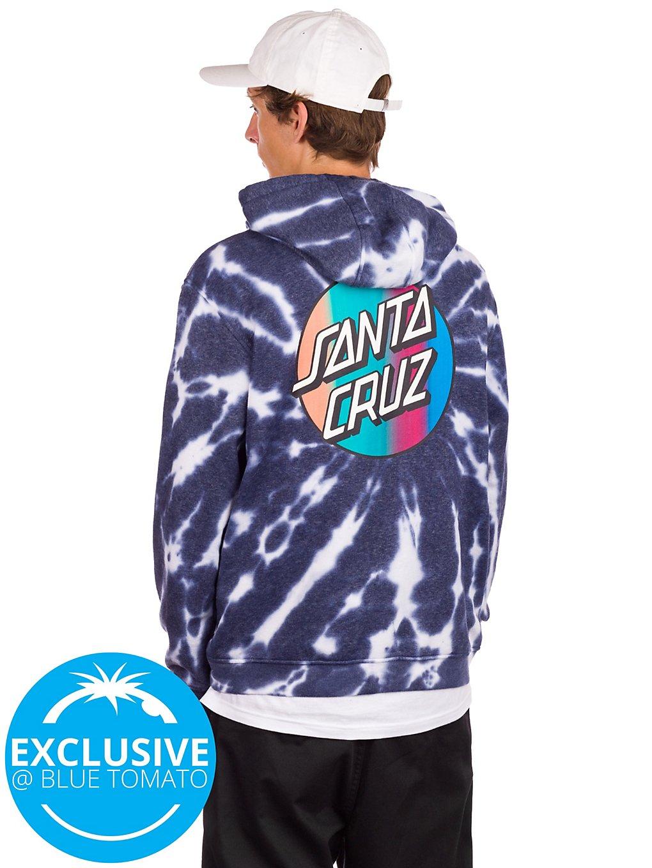 Santa Cruz BT Classic Dot Fade Chest Hoodie dye