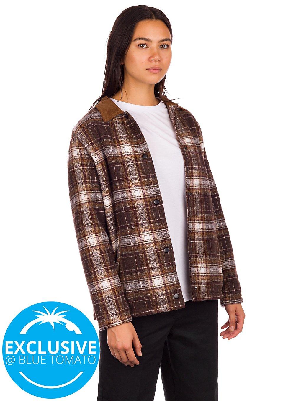 Santa Cruz BT Retreat Shirt brown plaid