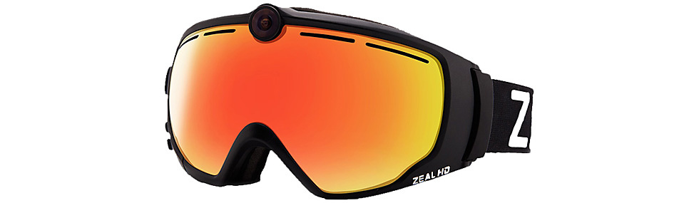 Example of a camera goggle
