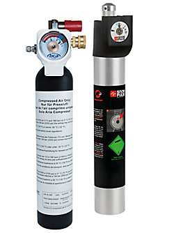 Refillable cartridges from BCA and Mammut