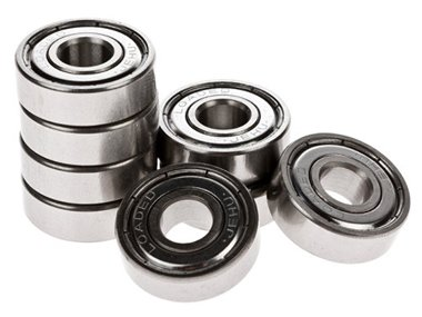 Loaded Jehu Abec 5 bearings