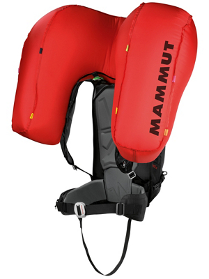Mammut Protection Airbag Avalanche backpack for women and men