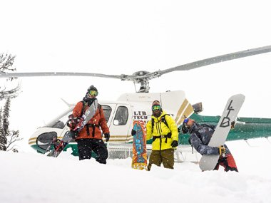 Freeride Snowboards for women and men