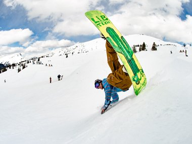 Freestyle Snowboard von Lib Tech