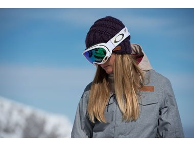 A functional, stylish pair of ski goggles