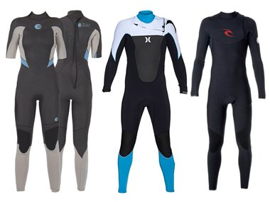Different wetsuit closure systems