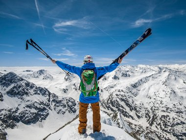 Freeriding with ABS Airbag