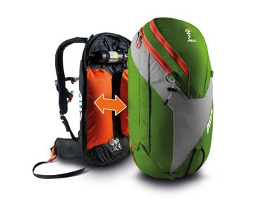 ABS Vario Base Unit with ABS Vario Zip On Bag