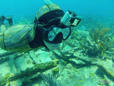 Action Cam by GoPro waterproof, diving