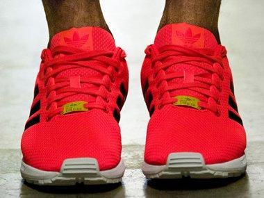 Adidas Zx Flux Torsion Red