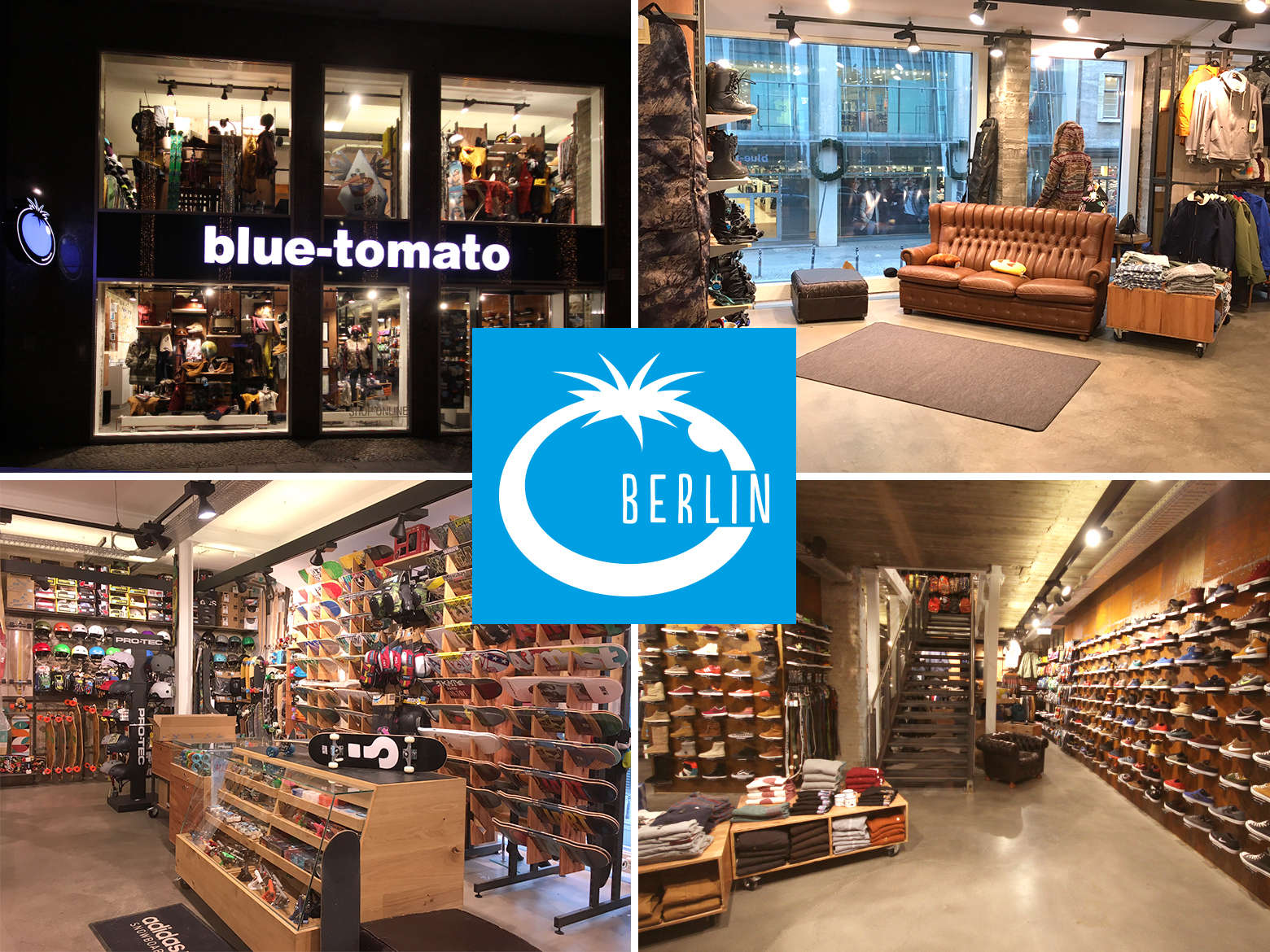 Blue Tomato Shop Berlin