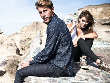 Lifestyle and Streetwear at the coast Billabong