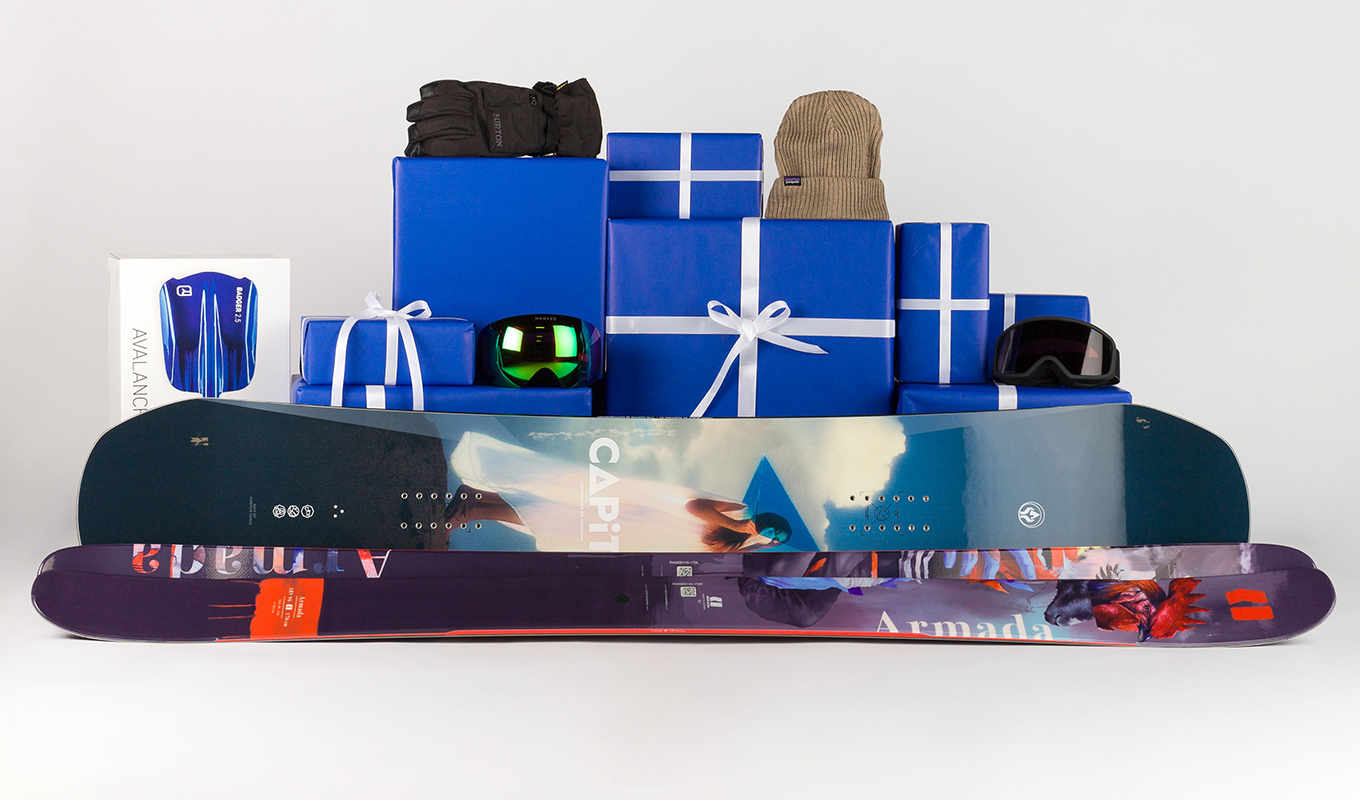 Gift ideas for snowboarder and freeskiers