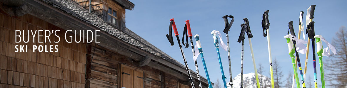 Buyer's guide for ski poles and telescopic poles