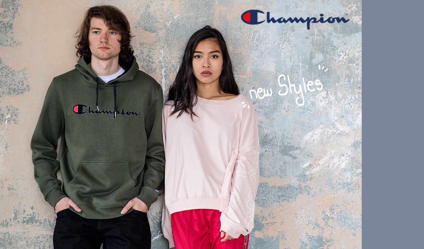 New In: champion styles