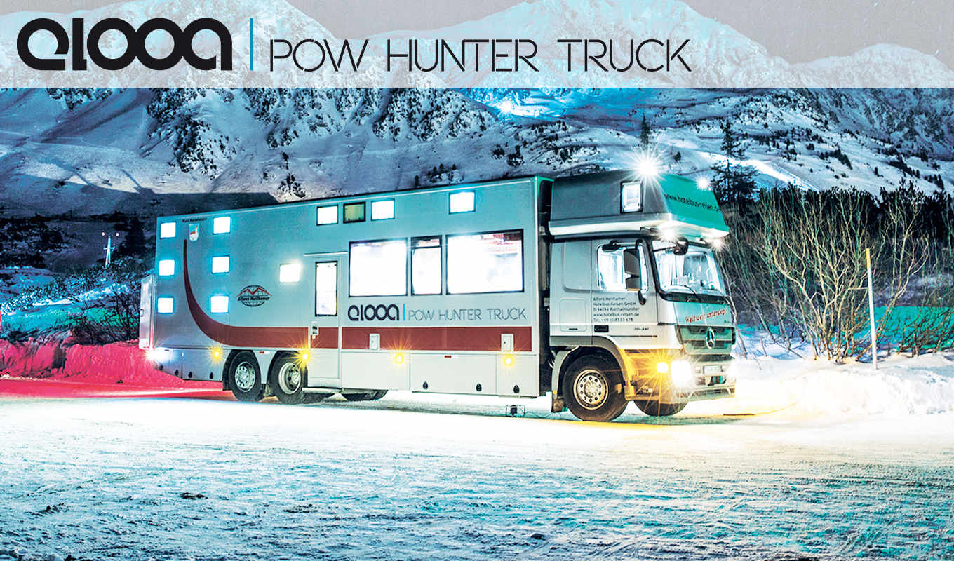 Elooa pow hunter truck