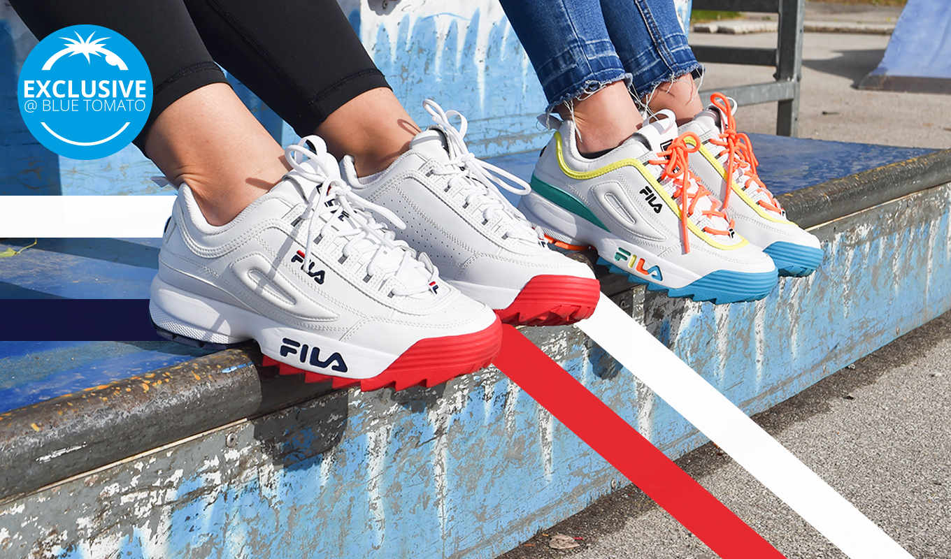 Fila Disruptor exclusive Colourways