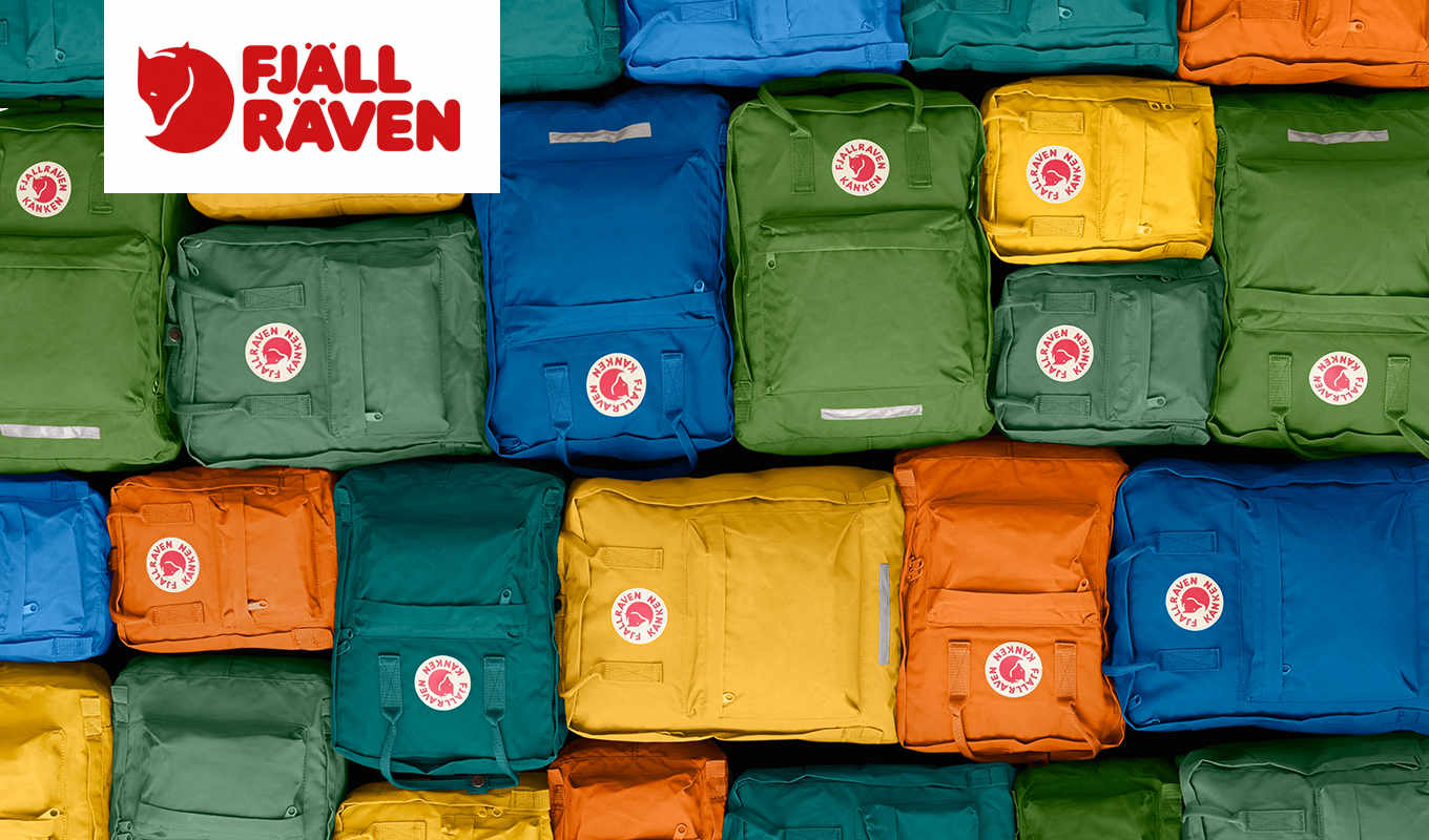 Colourful selection from fjällräven