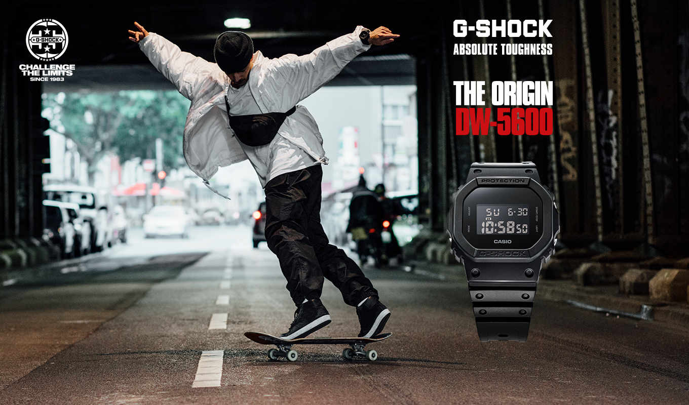 G-Shock - absolute toughness