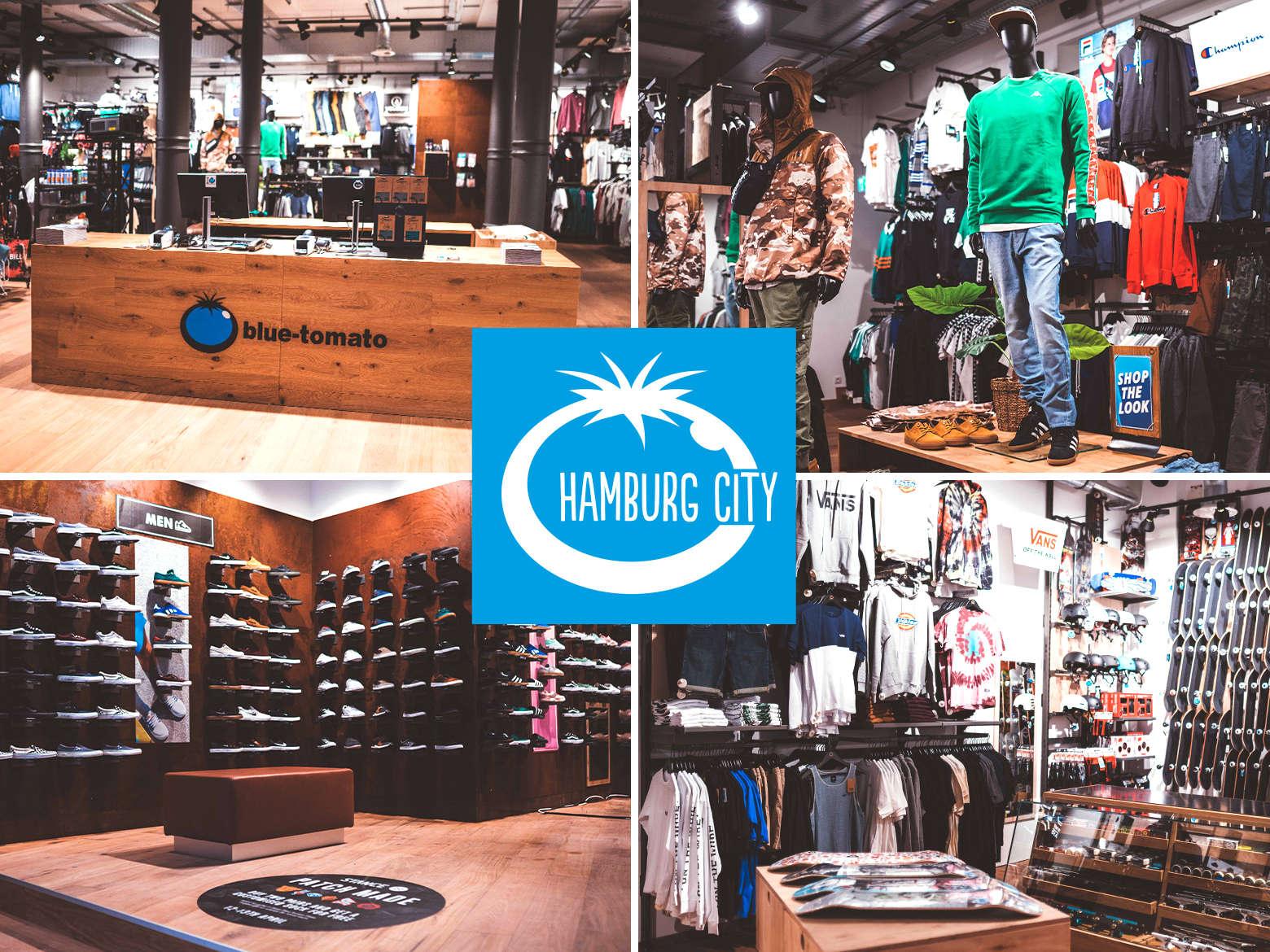 quality design cfa9d 1bb24 Blue Tomato Shop Hamburg City