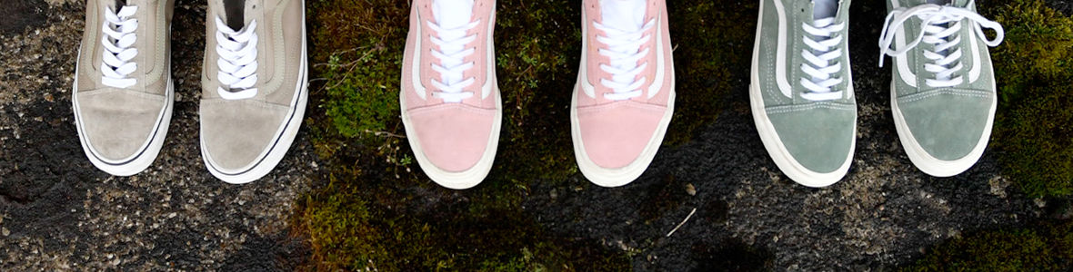 Herbsttrend Pastel Shoes