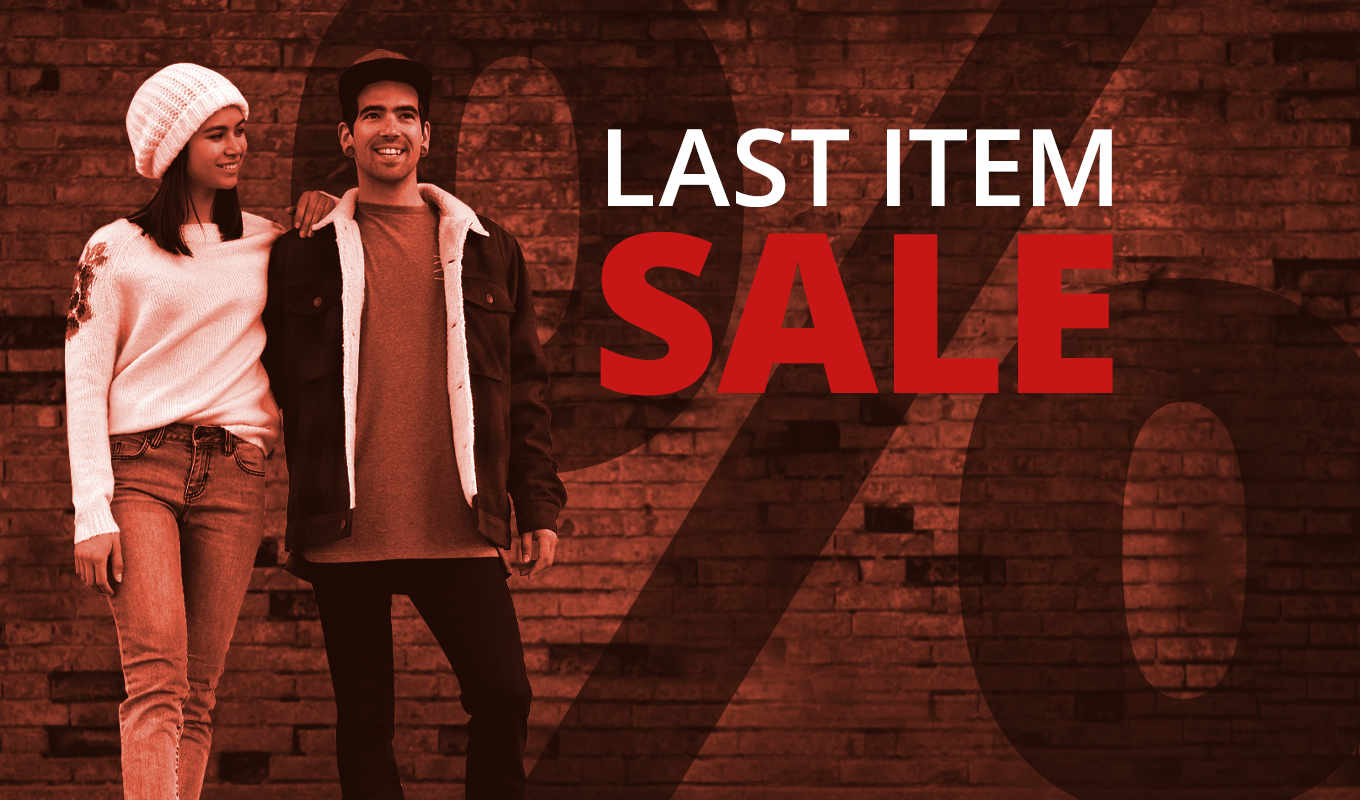 Shop now and grab a bargain!