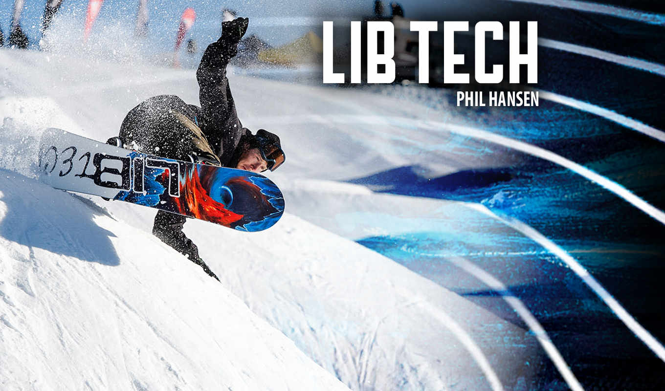 get stoked with Lib Tech Snowboards
